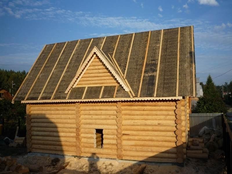 как покрыть крышу рубероидом своими